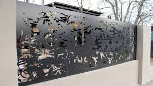 Decorative Garden Fence Panels Laser Cut Metal Art Decoratorist 67305