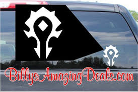 Wow World Of Warcraft Horde Vinyl Sticker