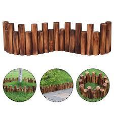 1pc Grey Garden Fence Edging Cobbled Stone Effect Plastic Lawn Edging Plant Border Decorations Flower Bed Border Fencing Trellis Gates Aliexpress
