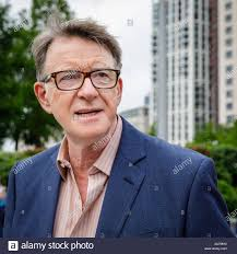 Peter Mandelson, Baron Mandelson, PC, British Labour politician, president  think tank Policy Network, chairman Global Counsel, portrait, smiling Stock  Photo - Alamy