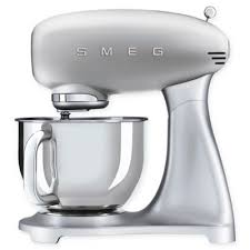 smeg 5 qt stand mixer with glass bowl