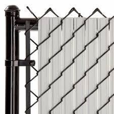 Slat Depot Chain Link Gray Solitube Max Privacy Slat For 4 Ft Fence Bottom Lock