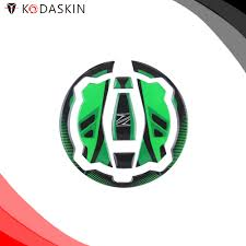 Kodaskin Motor 3d Printing Gas Cap Sticker Protection Decal Green And Black For Z900 Z650 Ninja650 Er6f Decals Stickers Aliexpress