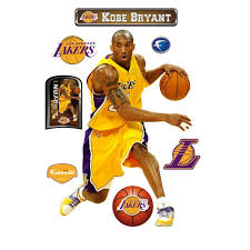 Where To Check Prices Kobe Bryant Los Angeles Lakers Wall Decal Cherly Caine V9