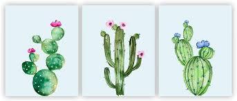 com cacti prints cactus decor