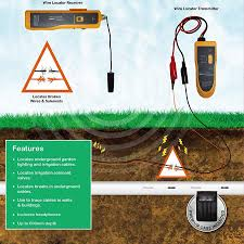 F02 Underground Cable Wire Locator Tracker