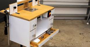 Diy How To Build A Homemade Benchtop Router Table