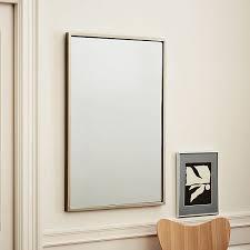 metal frame 36 rectangular mirror