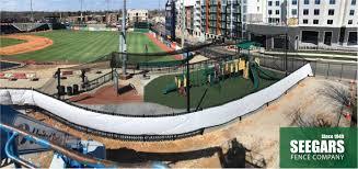 Baseball Field Nets By Seegars Fence Company Fencing Companies Field Fence