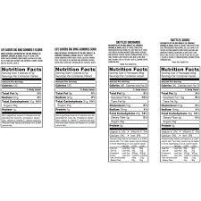 lifesaver big ring gummies nutrition