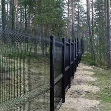 Cheap Pvc Coated Welded Wire Mesh Black Fence Buy Black Fence Fence Wire Galvanized Fence Manufacturing Product On Alibaba Com