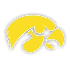 Iowa Hawkeyes Vinyl Die Cut Decal 4 Sizes 2079