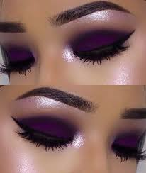 deep purple makeup idea pictures