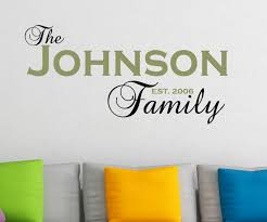 Decalthewalls Personalized Family Name And Year Established Wall Decal Reviews Wayfair