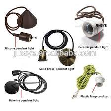 colorful diy pendant light lamp socket
