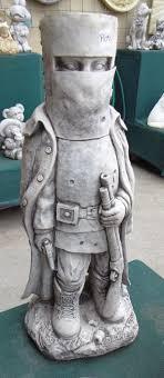 ned kelly concrete statue pots n pots