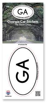 Georgia State Sticker Travel Sticker Club