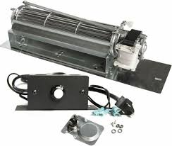 replacement fireplace blower fan kit