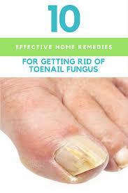 getting rid of toenail fungus