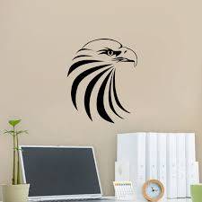Eagle Head Wall Sticker Animal Wall Decor Bird Eagle Wall Decals Kids Room Decor Animal Wall Decoration Wall Decor Birdswall Decor Aliexpress