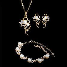 elegant bridal shinny crystal pearl