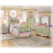 B140 92 Ashley Furniture Doll House Two Drawer Night Stand