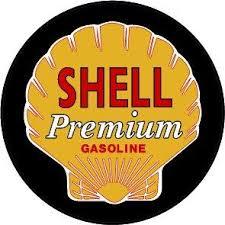 Shell Gasoline Decal Version 2 Nostalgia Decals Retro Vinyl Stickers Nostalgia Decals Online