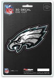 Sports Licensing Solutions Philadelphia Eagles 5x7 Inch 3d Auto Decal Green 13850168