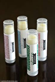 homemade lip balm with choose the right