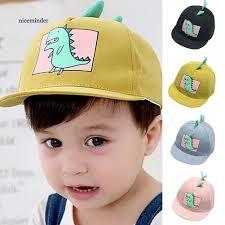Nón lưỡi trai họa tiết khủng long dễ thương dành cho các bé