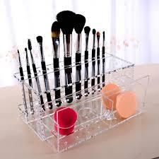 makeup brush organizer storage