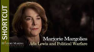 Marjorie Margolies on Ada Lewis and Political Warfare - YouTube