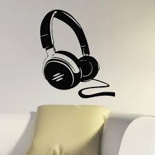 Shop Dj Headphones Music Inspirational Vinyl Wall Art Decal Sticker Overstock 10792971