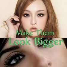 eye makeup for small eyes make them