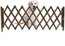 Amazon Com Jlxl Wooden Pet Gate For Dogs Garden Panels Wooden Fence Dog Folding Gate Expanding Panel Fold Able Indoor Outdoor Free Standing Safety Gate Portable Separation Pet Safety Barrier Guard Pet