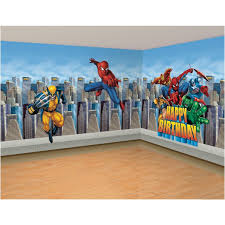 Marvel Super Hero Bedroom Wall Decal Ideas Superhero Bedroom Marvel Heroes Bedroom Superhero Room