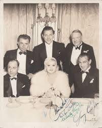 Mae West, W. C. Fields, Wesley Ruggles & Gary Cooper | Regis Autographs