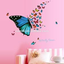 Beautiful Butterfly Dream Wall Stickers Colorful Butterflies Hot Selling Wall Art Living Room Kitchen Children Rooms Wallpaper Buy Beautiful Butterfly Dream Wall Stickers Colorful Butterflies Hot Selling Wall Art Removable Pvc Stickers Product