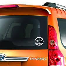 Dragon Ball Z Kai Symbols Logo Decal Cars Sticker Car Decals Stickers Car Stickers Car Decals