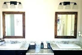 winsome 30 bathroom mirror frameless 48