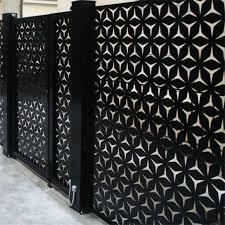 China Garden Metal Fence Screens Designs Aluminum Laser Cut Metal Panel China Security Laser Cut Screen Railing Laser Cut Screen Railing