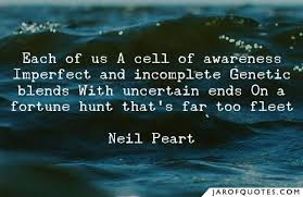 each of us a cell of awareness imperfect and incomplete genetic