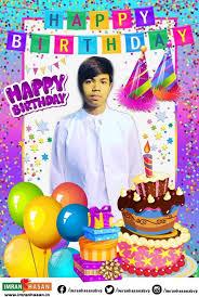 imran hasan wish you a very happy birthday my dear sweet