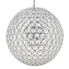 8 light chrome crystal chandelier