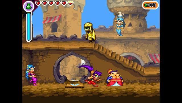 """Resultado de imagen para Shantae risky's revenge"""""""