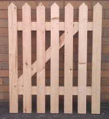 How To Make A Picket Fence Gate In About 30 Minutes Make