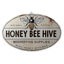 Red Shed Metal Honey Bee Hive Sign At Tractor Supply Co