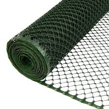 Everbilt 3 4 In X 3 Ft X 25 Ft Green Pvc Poultry Fence 889241eb The Home Depot