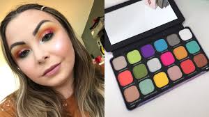 revolution rainbow palette tutorial