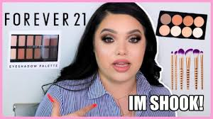 testing forever 21 makeup fuego or no